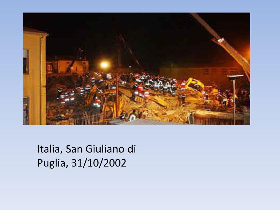 Italia, San Giuliano di Puglia, 31/10/2002