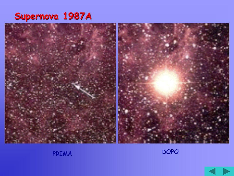 Supernova 1987A PRIMA DOPO