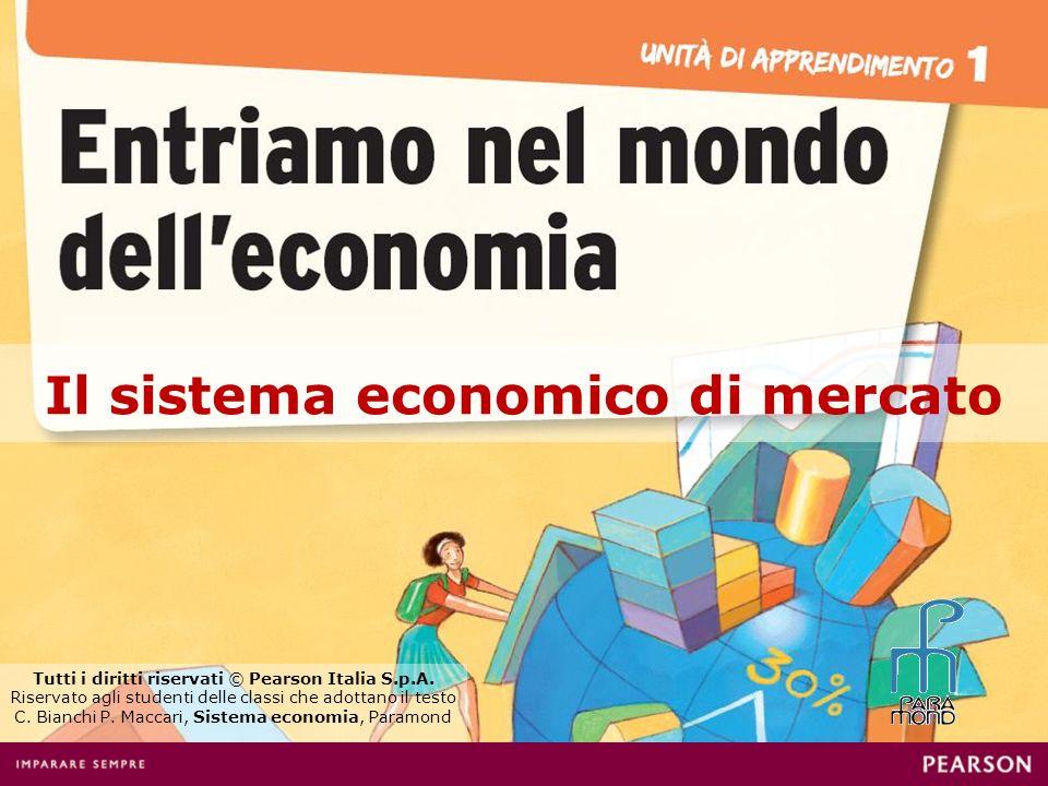 Il sistema economico di mercato Tutti i diritti riservati © Pearson Italia S.p.A. Riservato agli studenti delle classi che adottano il testo C. Bianch