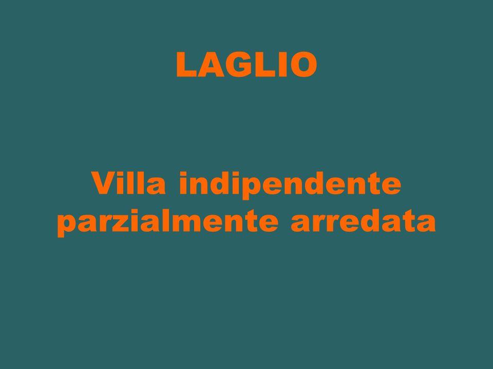 LAGLIO Villa indipendente parzialmente arredata