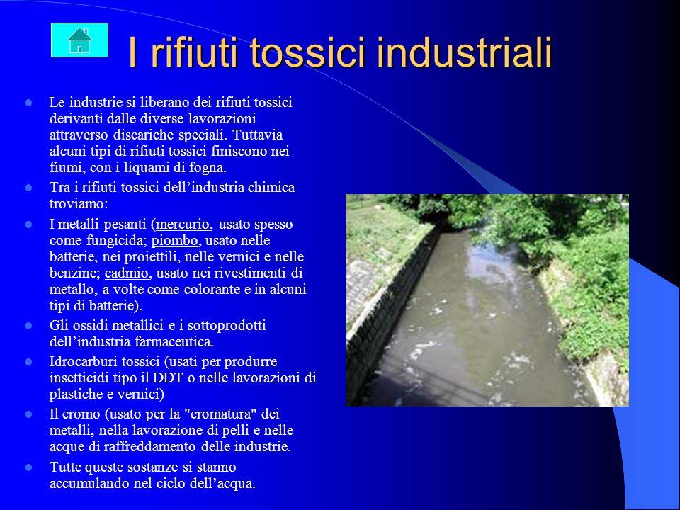 I prodotti chimici in agricoltura I prodotti chimici in agricoltura Le numerose sostanze utilizzate in agricoltura non restano solo sul suolo o sulle