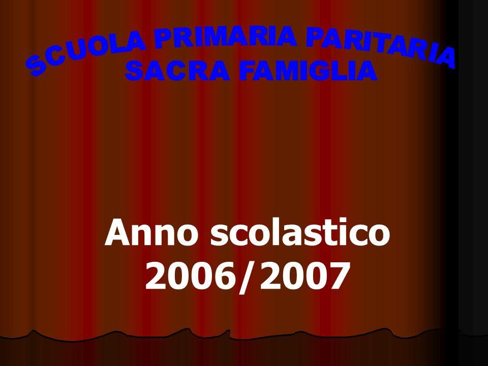 Anno scolastico 2006/2007