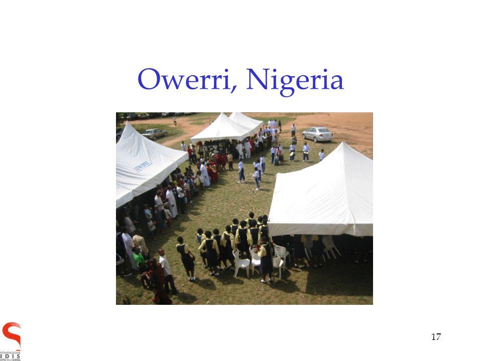 17 Owerri, Nigeria
