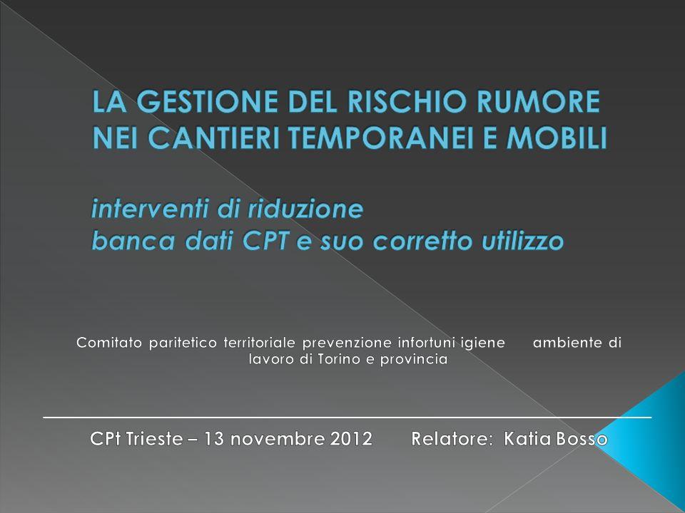 Grazie per lattenzione 22 Cpt Trieste Katia Bosso - C.P.T. Torino