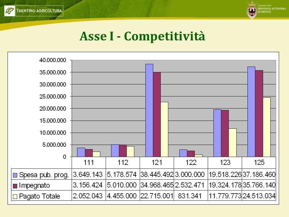 3 Asse I - Competitività
