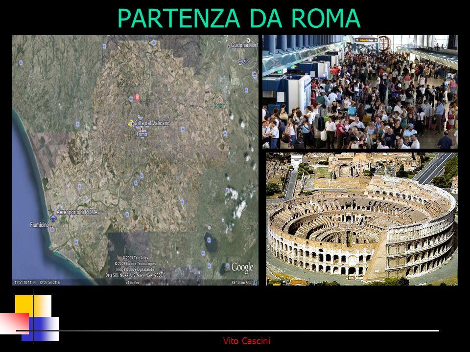 PARTENZA DA ROMA