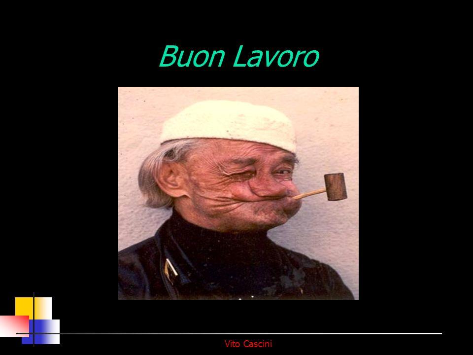 Vito Cascini Buon Lavoro