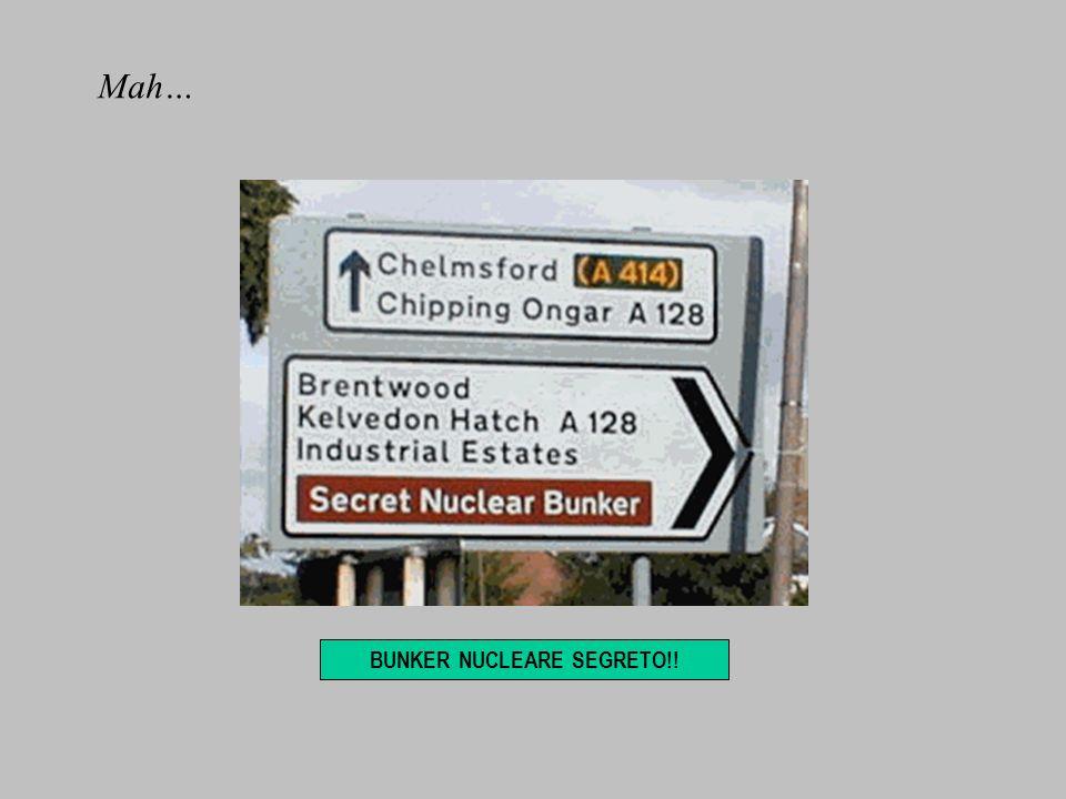 BUNKER NUCLEARE SEGRETO!! Mah…