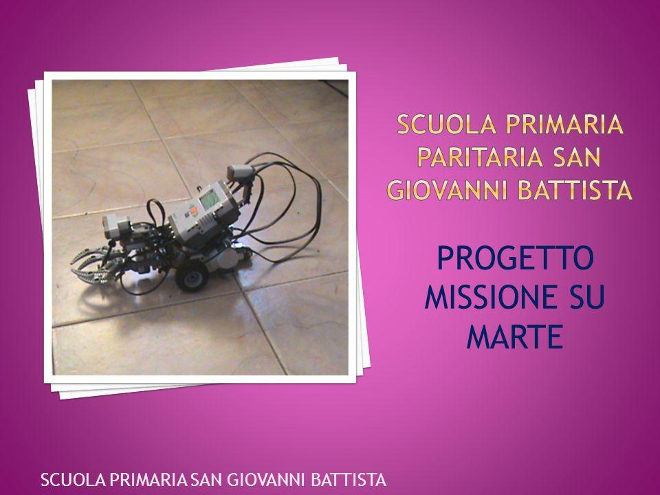 PROGETTO MISSIONE SU MARTE SCUOLA PRIMARIA SAN GIOVANNI BATTISTA