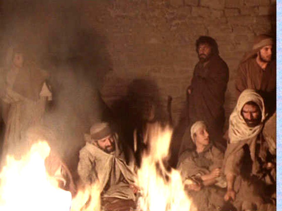 Pietro disse: non lo sono Sopportasti la negazione del tuo primo collaboratore, Per espiare le nostre colpe...