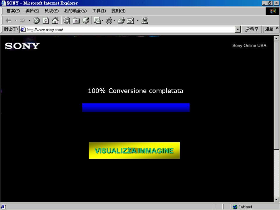 VISUALIZZA IMMAGINE VISUALIZZA IMMAGINE 100% Conversione completata