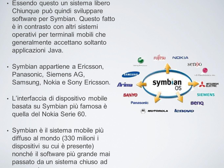 Essendo questo un sistema libero Chiunque può quindi sviluppare software per Symbian. Questo fatto è in contrasto con altri sistemi operativi per term
