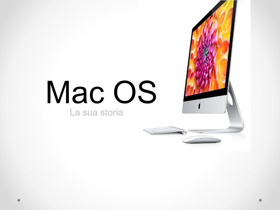 Mac OS La sua storia