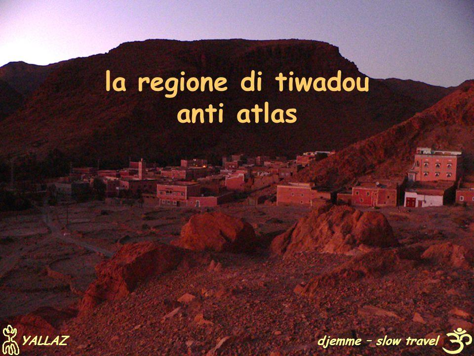 la regione di tiwadou anti atlas djemme – slow travel YALLAZ