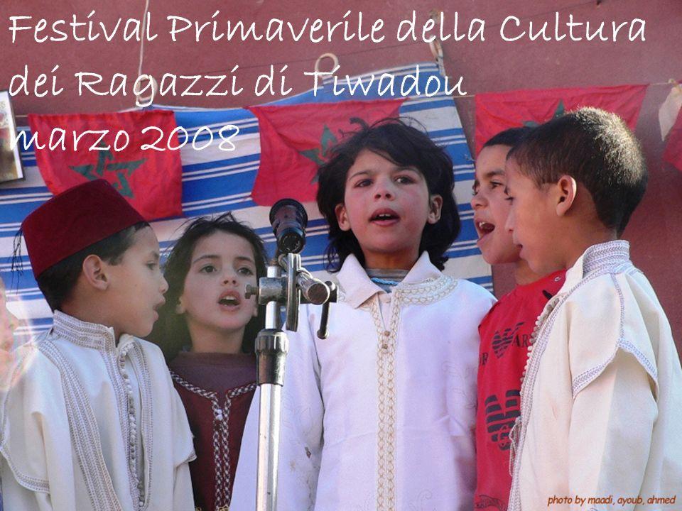 Festival Primaverile della Cultura dei Ragazzi di Tiwadou marzo 2008