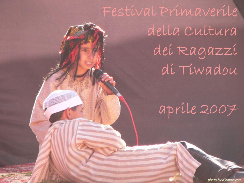 Festival Primaverile della Cultura dei Ragazzi di Tiwadou aprile 2007