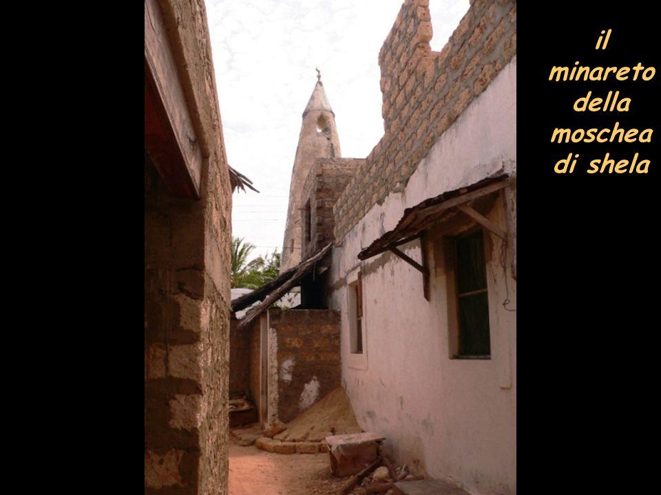 il minareto della moschea di shela