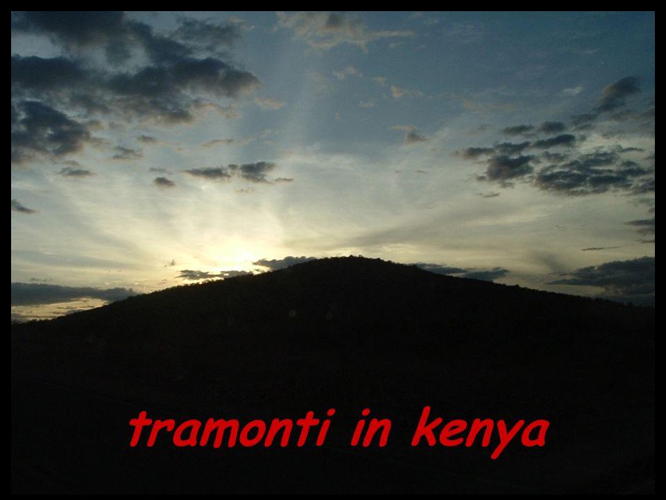 tramonti in kenya