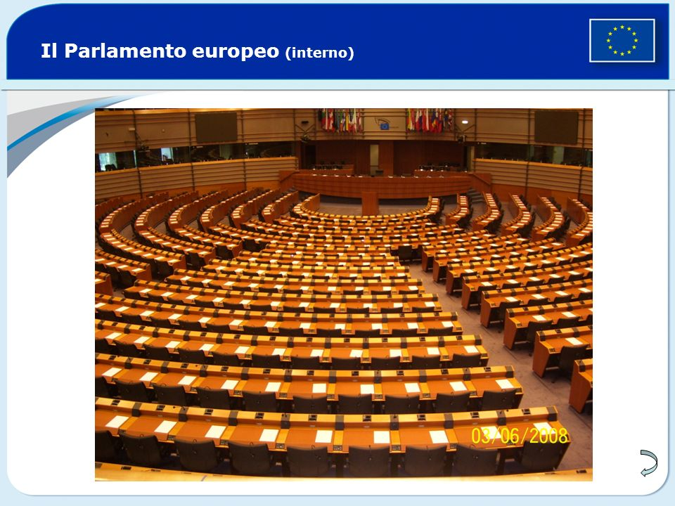 Il Parlamento europeo (interno)