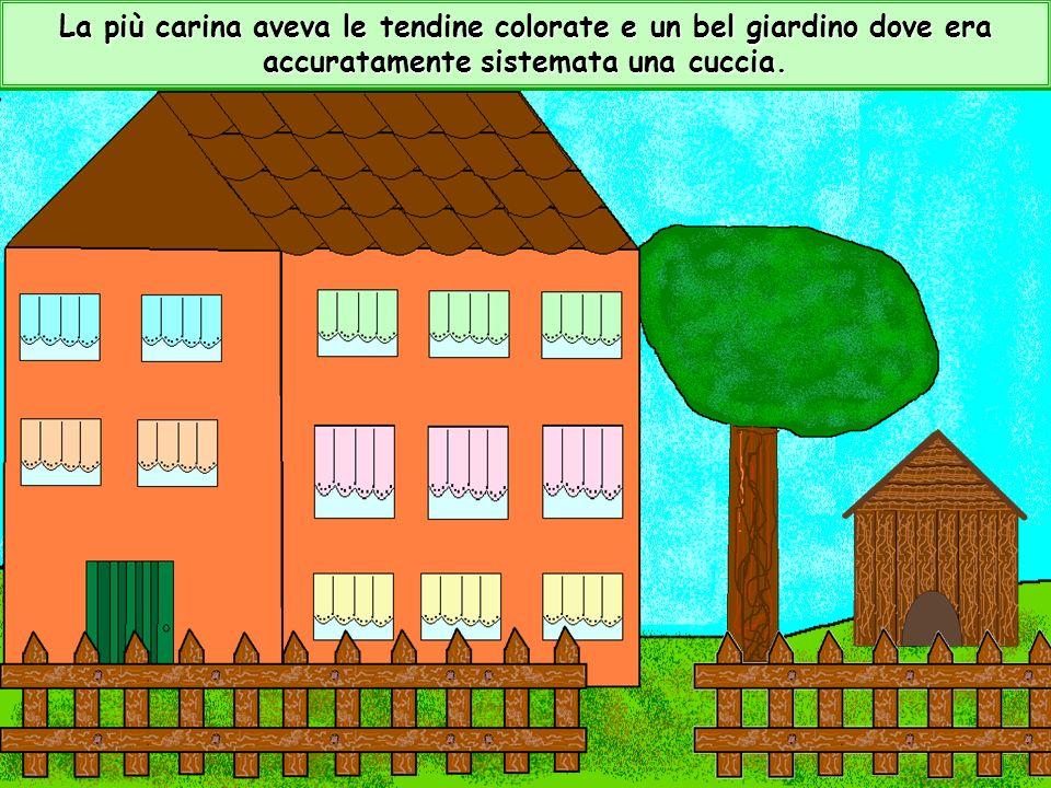 Nel paese di Fattodicosa cera un tranquillo quartiere con graziose villette.