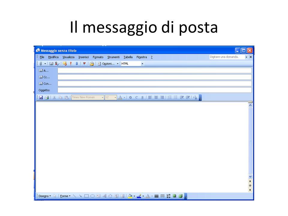 Il messaggio di posta