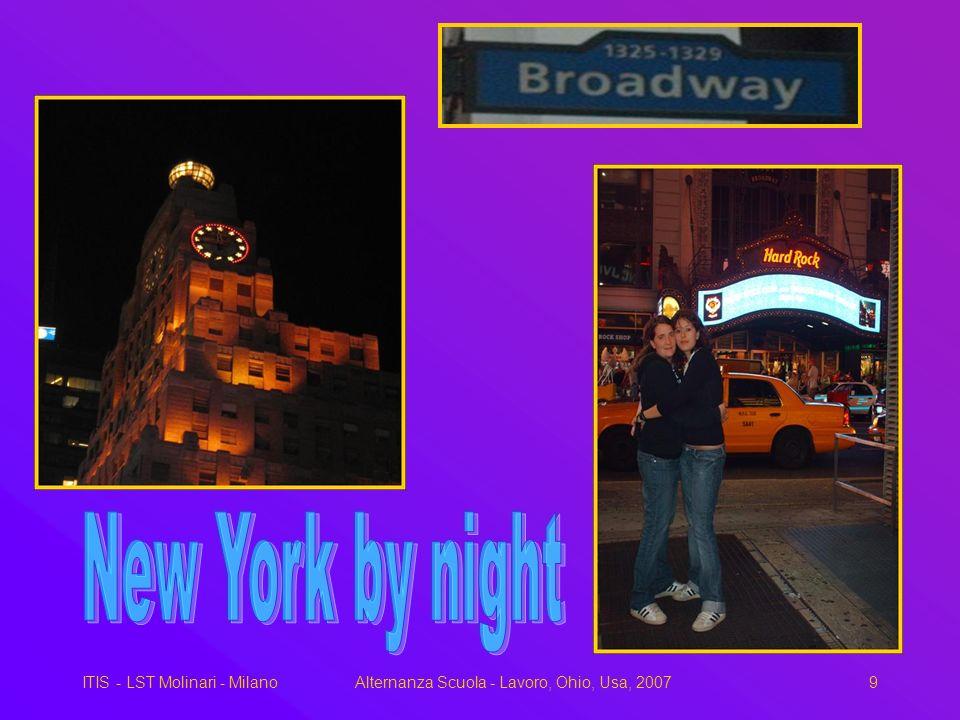 ITIS - LST Molinari - MilanoAlternanza Scuola - Lavoro, Ohio, Usa, 20079 New York by night