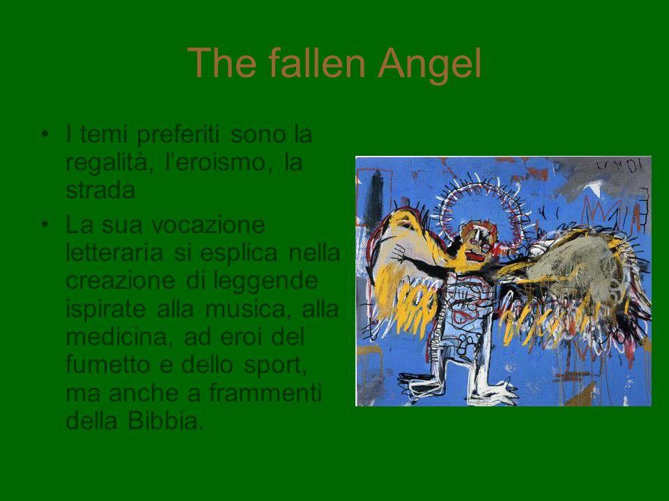 The fallen Angel I temi preferiti sono la regalità, leroismo, la strada La sua vocazione letteraria si esplica nella creazione di leggende ispirate al