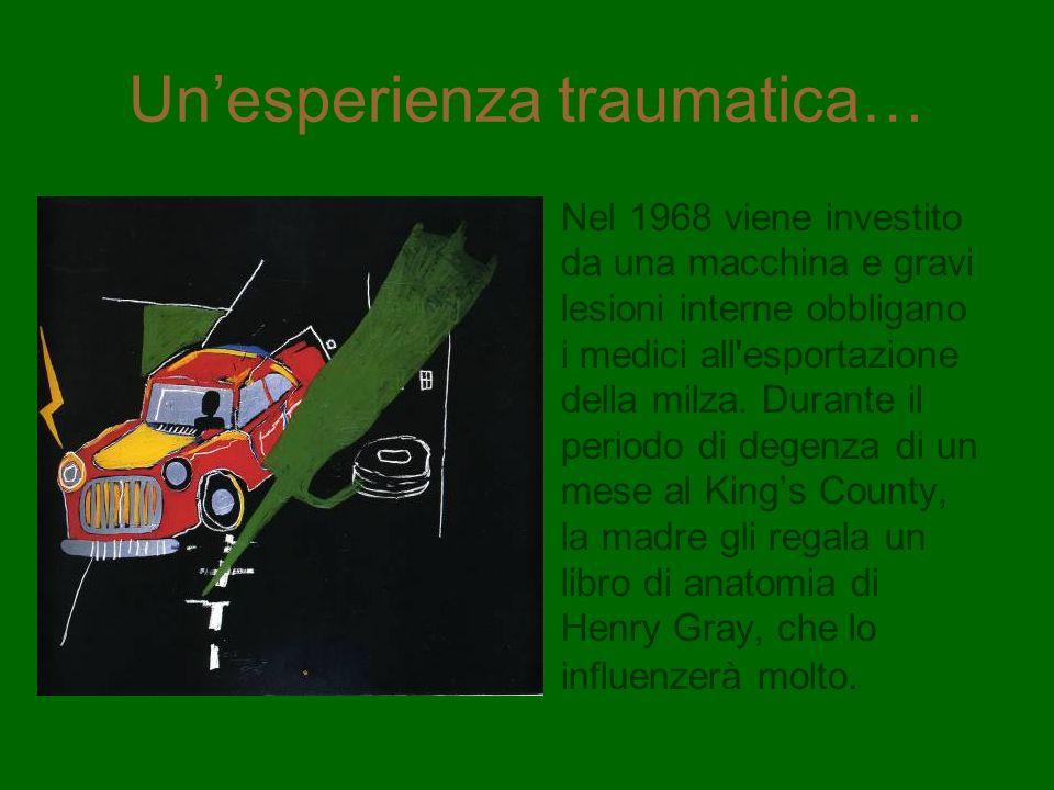 Unesperienza traumatica… Nel 1968 viene investito da una macchina e gravi lesioni interne obbligano i medici all'esportazione della milza. Durante il