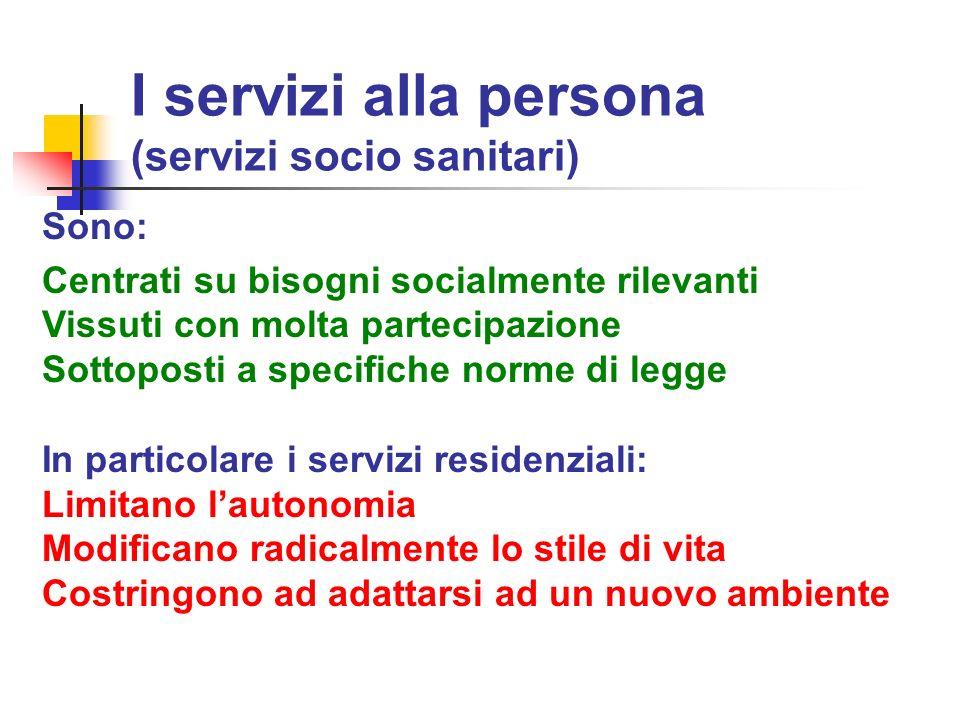 Attori del servizio (e non solo…) Ospiti Volontari Familiari Operatori Non Front Line Operatori Front Line Servizio RSA Resto del Mondo