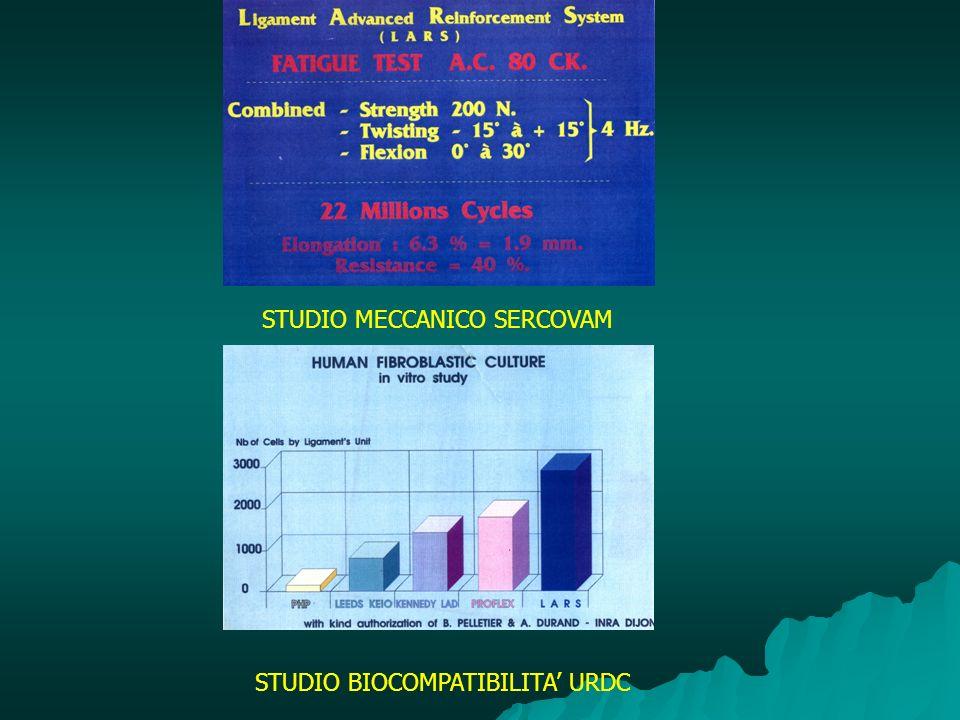 STUDIO MECCANICO SERCOVAM STUDIO BIOCOMPATIBILITA URDC