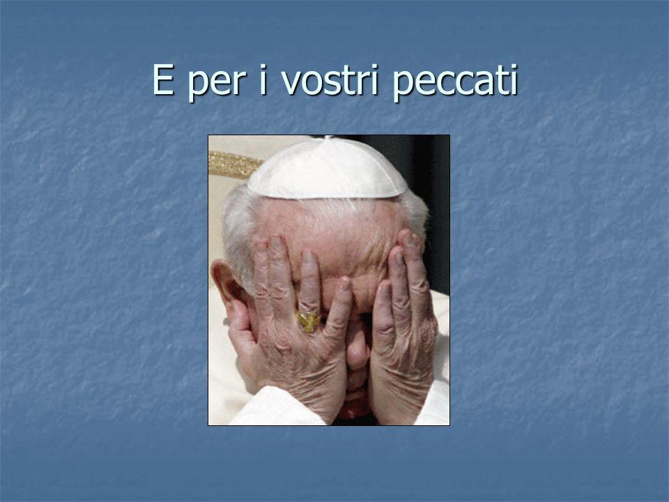 Ho pregato per voi