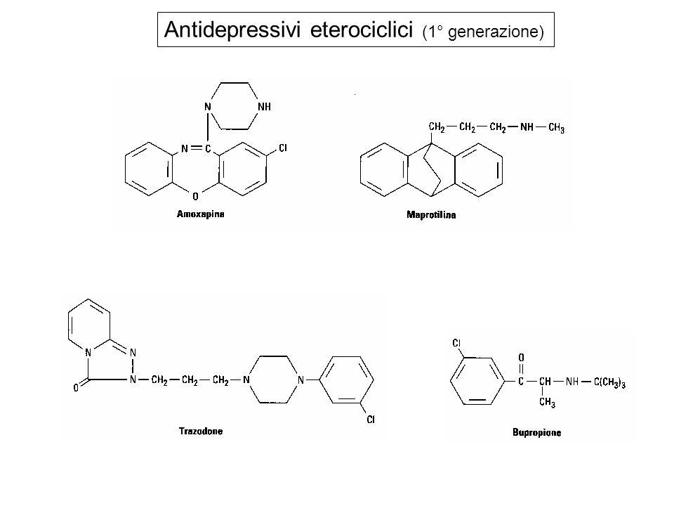 Antidepressivi eterociclici (1° generazione)