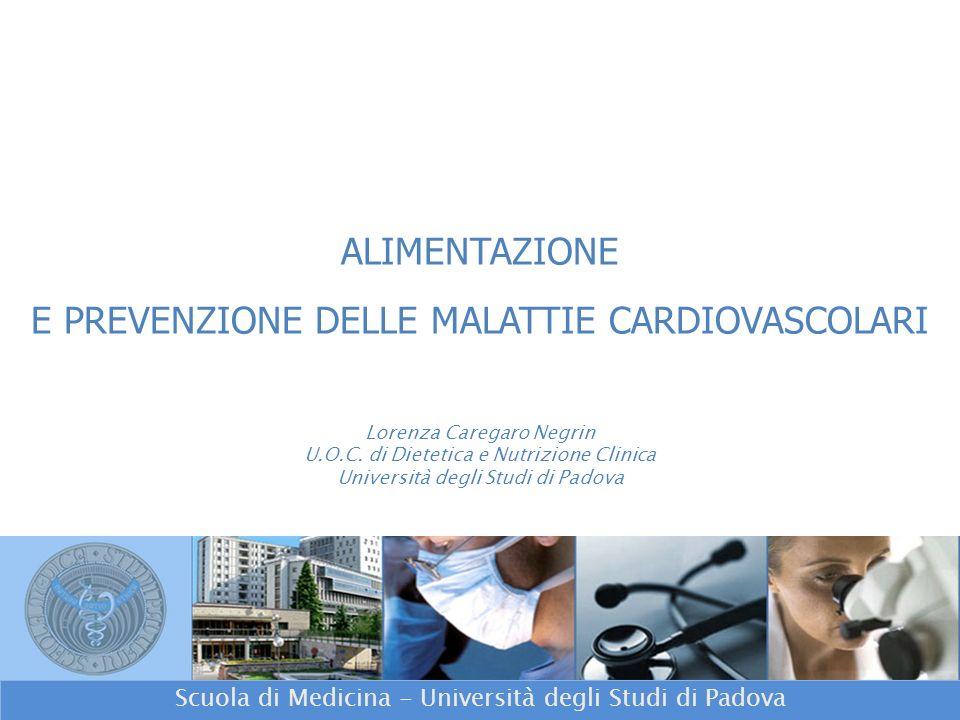 Scuola di Medicina - Università degli Studi di Padova Lorenza Caregaro Negrin U.O.C.