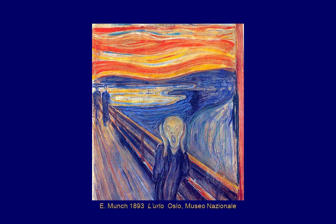 E. Munch 1893 Lurlo Oslo, Museo Nazionale