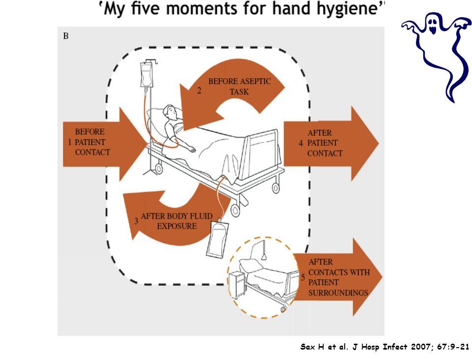 Sax H et al. J Hosp Infect 2007; 67:9-21