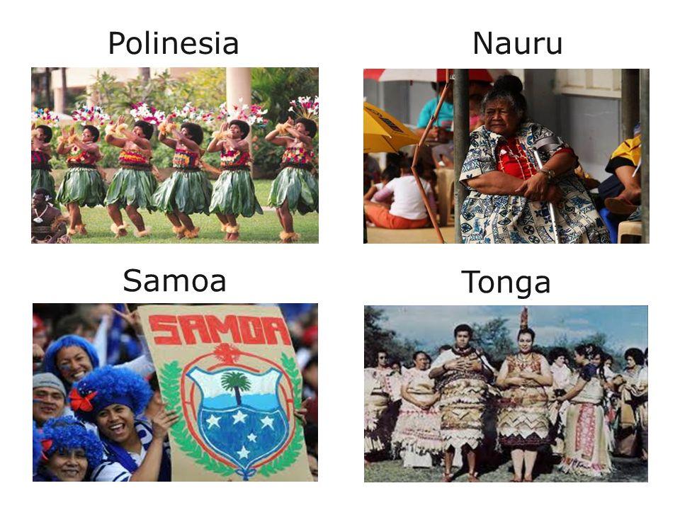 Samoa Tonga Polinesia Nauru