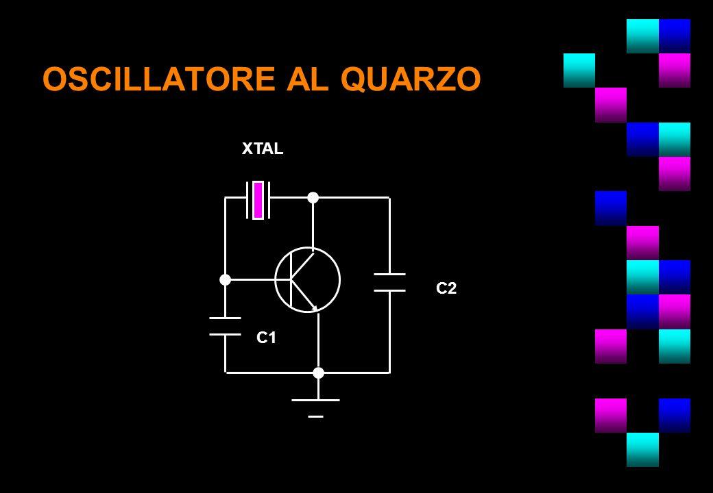 OSCILLATORE AL QUARZO C1 C2 XTAL