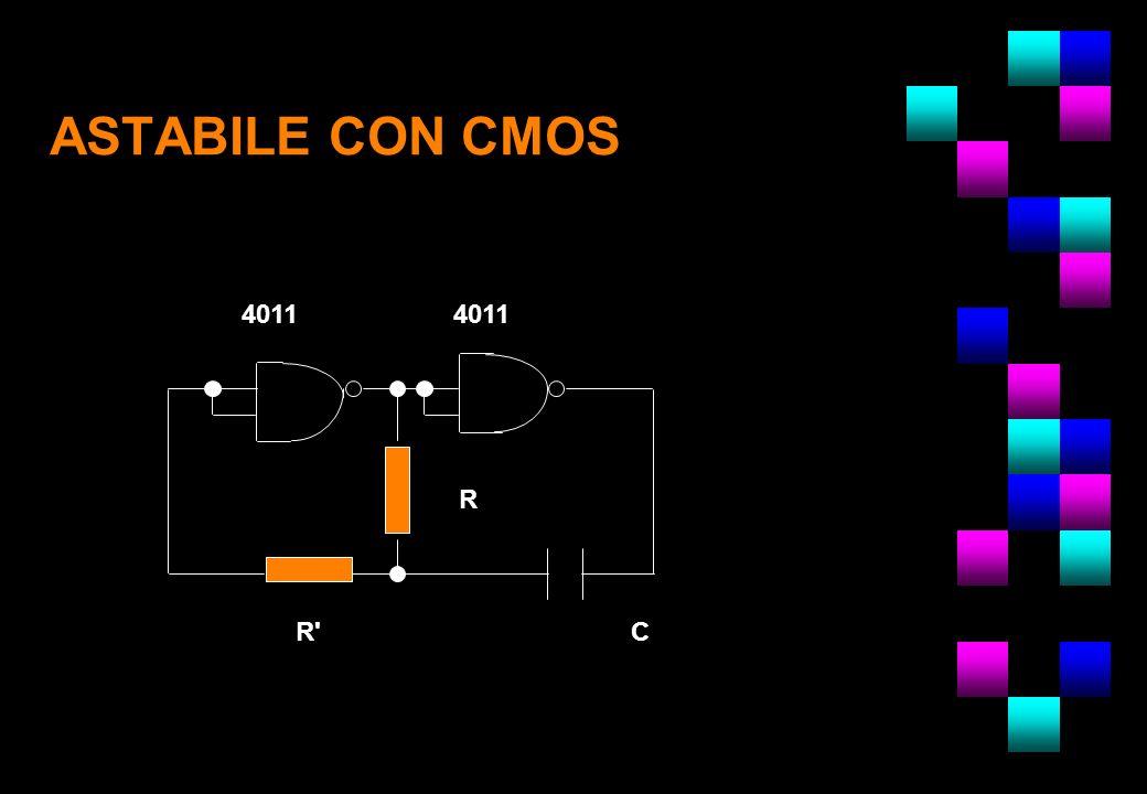 ASTABILE CON CMOS 4011 R R'C