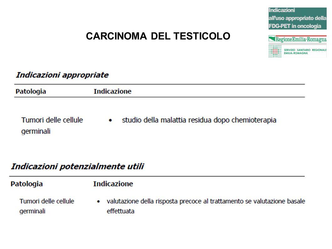 CARCINOMA DEL TESTICOLO