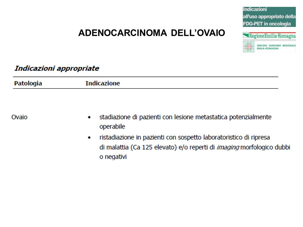 CARCINOMA DELLA CERVICE UTERINA Dopo chemioterapia..