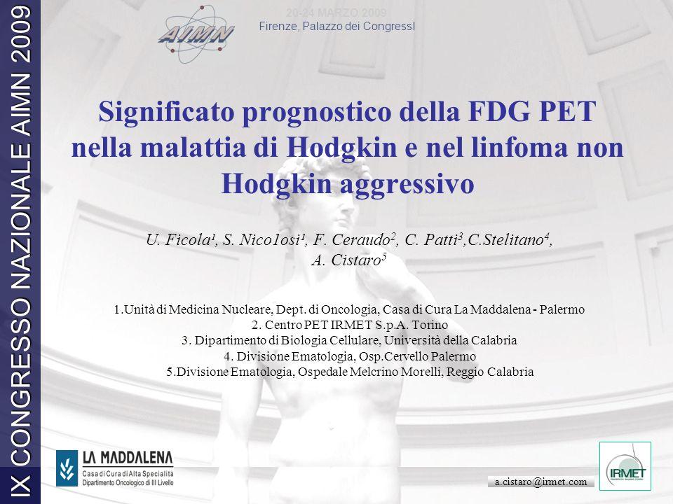 20-24 MARZO 2009 Firenze, Palazzo dei CongressI IX CONGRESSO NAZIONALE AIMN 2009 20-24 MARZO 2009 Firenze, Palazzo dei CongressI IX CONGRESSO NAZIONAL