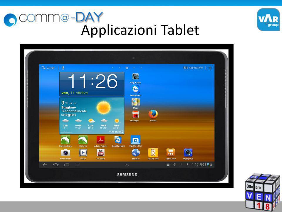 Applicazioni Tablet