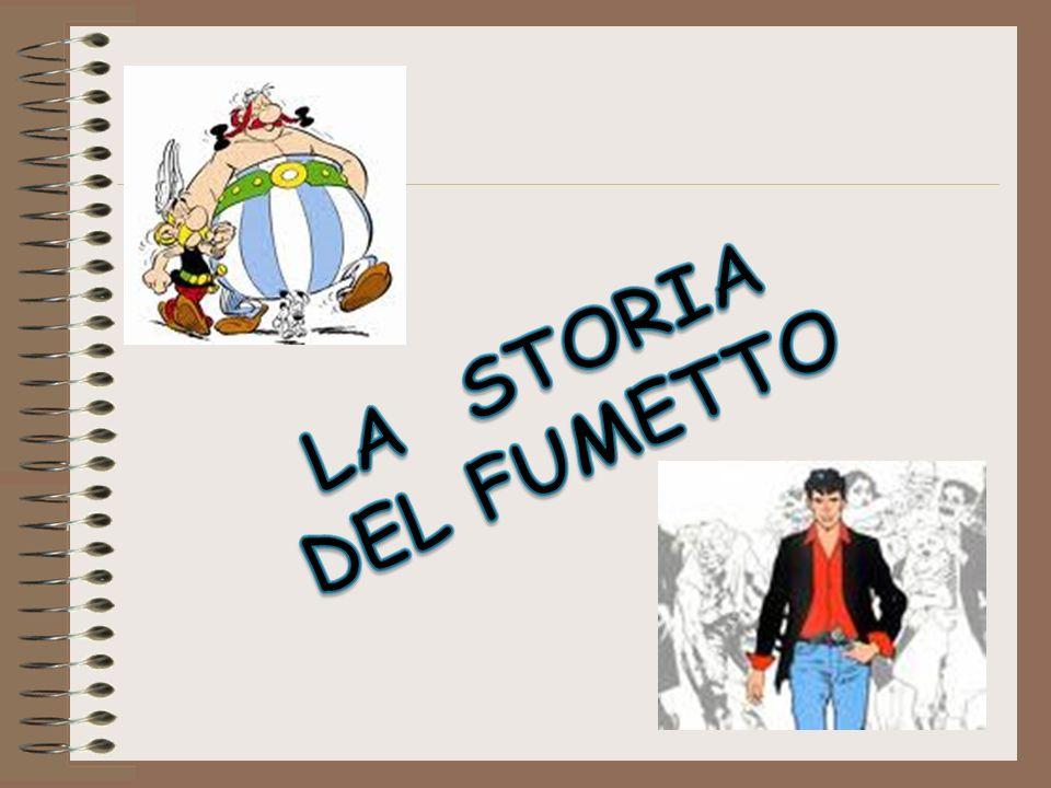 Il fumetto in Italia In Italia i primi fumetti appaiono nel 1908… finalmente.