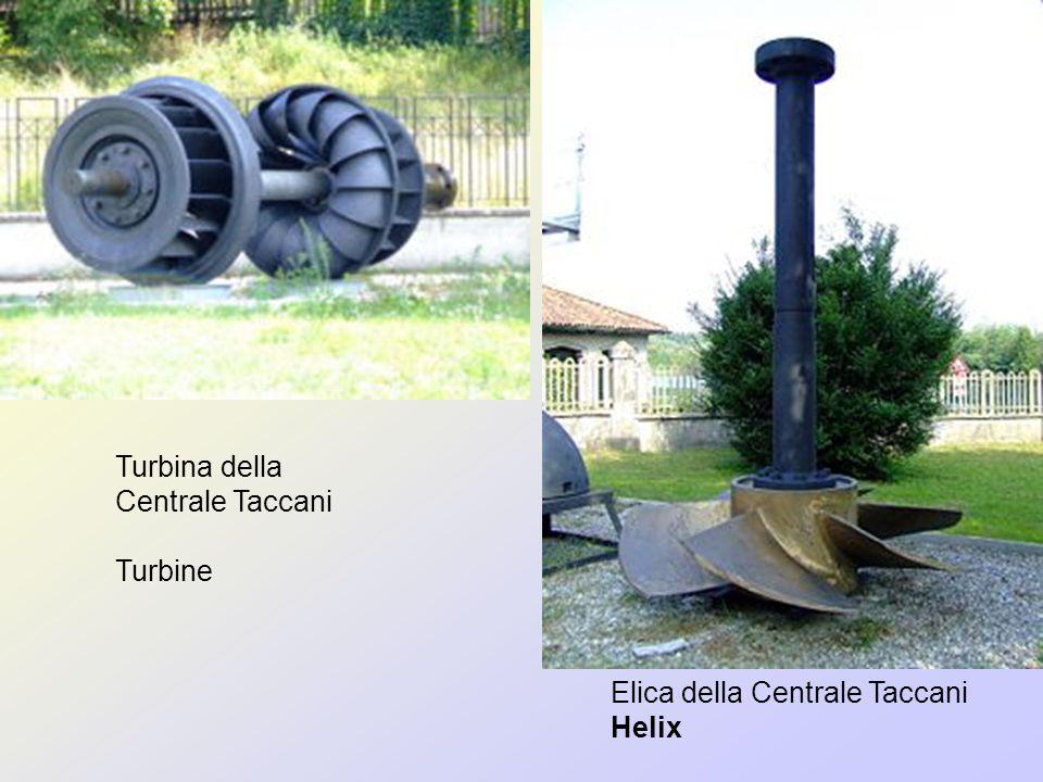 Turbina della Centrale Taccani Turbine Elica della Centrale Taccani Helix