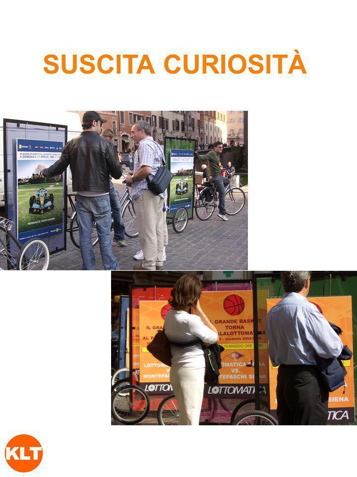 SUSCITA CURIOSITÀ