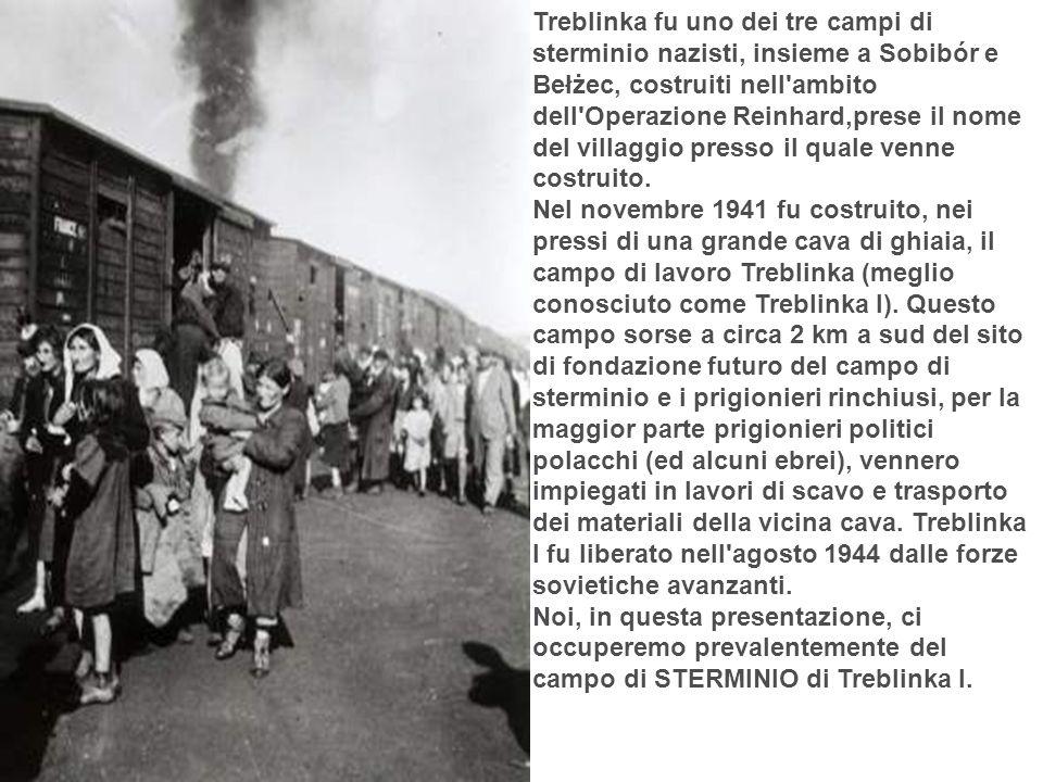FORMA DI RIBELLIONE Pur isolati e stremati dalle atroci condizioni di vita, i prigionieri vennero a sapere della rivolta del ghetto di Varsavia e vollero tentare un azione analoga.