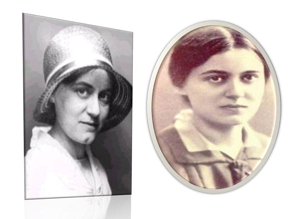 Edith Stein, conosciuta anche come Santa Teresa Benedetta della Croce, patrona dell'Europa, dei martiri e degli orfani. Ebrea ortodossa convertita, di