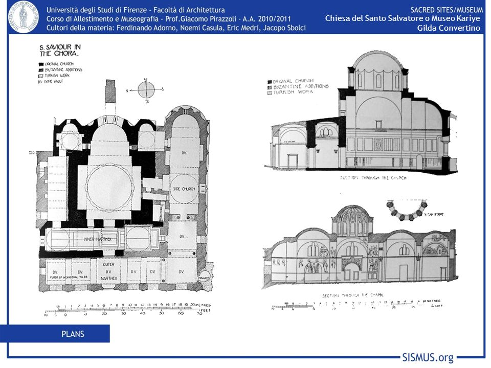 Chiesa del Santo Salvatore o Museo Kariye Gilda Convertino