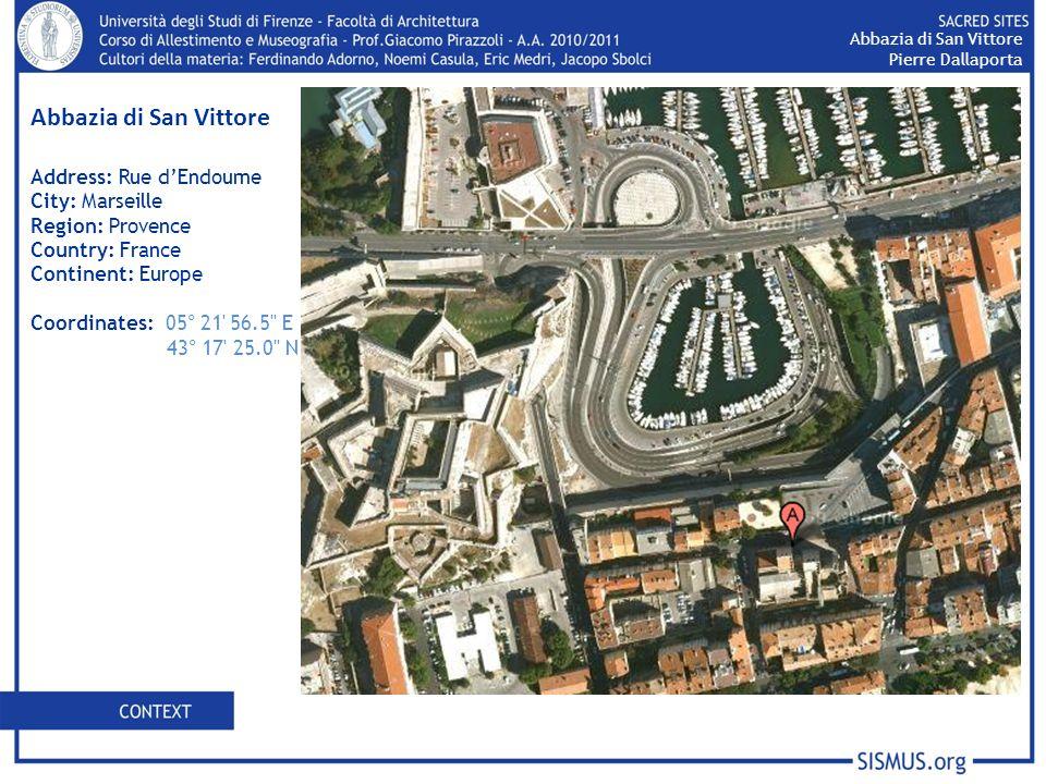 Labbazia di San Vittore è il risultato di una successione di costruzioni simbolici.