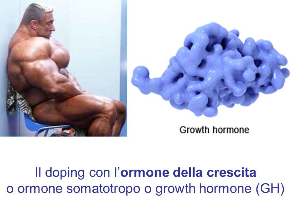 Il doping con lormone della crescita o ormone somatotropo o growth hormone (GH)